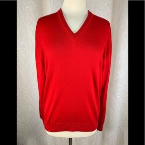 Women's Marinos Red Sweater made in Italy 🇮🇹